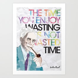 Wasted Time Art Print