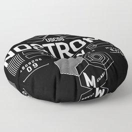 nostromo, alien Floor Pillow