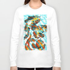 Three Koi Carp Long Sleeve T-shirt