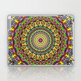 Happy Colorful Jungle Garden Mandala Laptop & iPad Skin