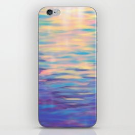 Rainbow Reflections iPhone Skin