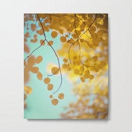 nature's gold Metal Print