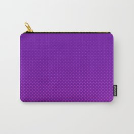 Purple halftone Carry-All Pouch