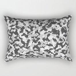 Winter Camoflauge pattern Rectangular Pillow