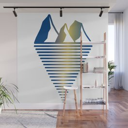 Mountain & Inlet Wall Mural