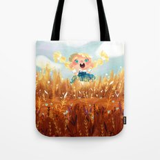 In The Fields Tote Bag