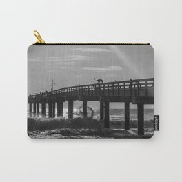 Fishermen on a Pier Carry-All Pouch