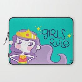 Girls Rule Laptop Sleeve