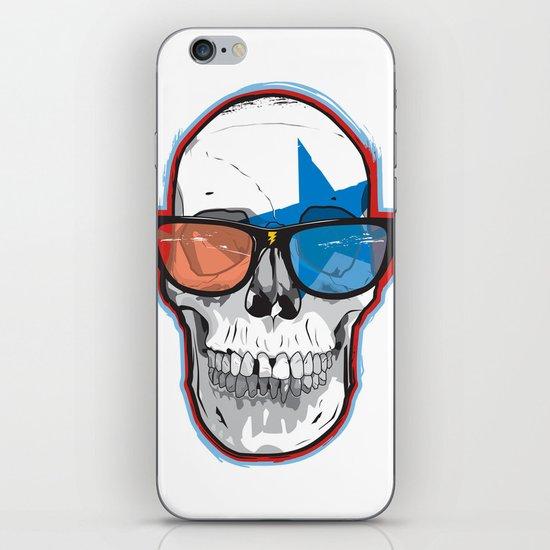 The 3D Star Punk iPhone & iPod Skin