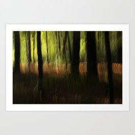 autumn abstract #o4 Art Print