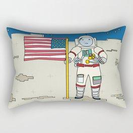 Moon Astronaut 1969 Rectangular Pillow
