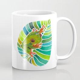 Frog On A Leaf Coffee Mug