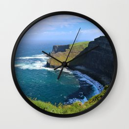 More Moher Cliffs Wall Clock