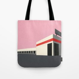 Sunset Warehouse Tote Bag