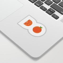Orange you glad Sticker