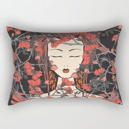 Sleeping Beauty  Rectangular Pillow