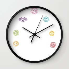 Chakra Religion Religious And Spiritual Person Gift Wall Clock