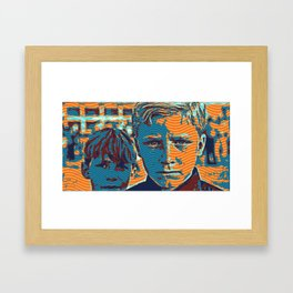 Kurdish Boys  3 Framed Art Print