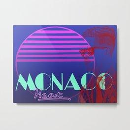 Vettel Vice: Monaco Heat Metal Print