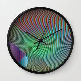 Play with stripes  6 Wall Clock
