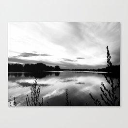 Obear Park - B&W Canvas Print