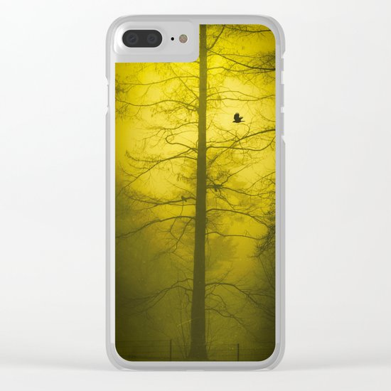 amarillo - gelb - yellow Clear iPhone Case