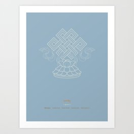 Shrivatsa – Endless Knot Art Print