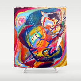 Wassily Kandinsky Improvisation III Shower Curtain