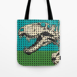 Dimetrodon Skeleton Tote Bag