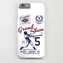 Varsity Baseball Team - Grand Slam iPhone Case