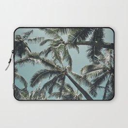 Kuau Palm Beach Maui Hawaii Sea Green Laptop Sleeve
