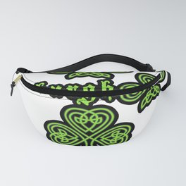 Pittsburgh St Patricks Day Design Fanny Pack