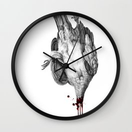 Voodoo Birds Wall Clock