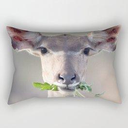 Kudu portrait Rectangular Pillow