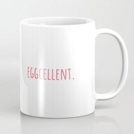 Eggs Eggcellent Food Gift Idea Coffee Mug