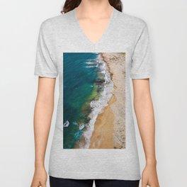 Sandy Beach Unisex V-Neck