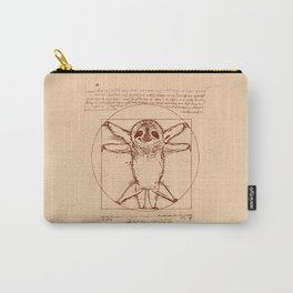 Vitruvian Sloth Carry-All Pouch
