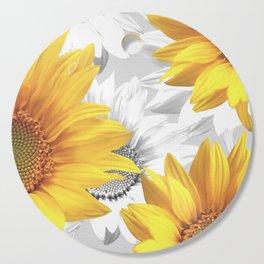 Sunflower Bouquet #decor #society6 #buyart Cutting Board