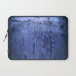 Old blue window at night Laptop Sleeve