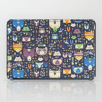 wild things iPad Cases featuring Wild Things by Paula McGloin Studio