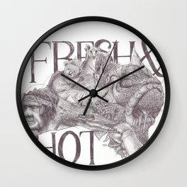 Fresh&Hot Wall Clock