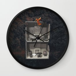 Lady at the Lake Wall Clock