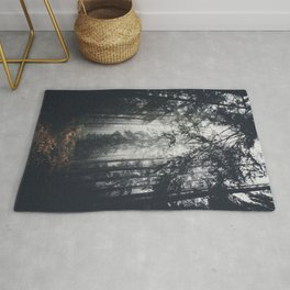 Dark paths Rug
