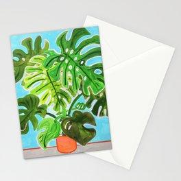 Happy Monstera Stationery Cards
