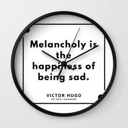 39    Victor Hugo Quotes   190830 Wall Clock
