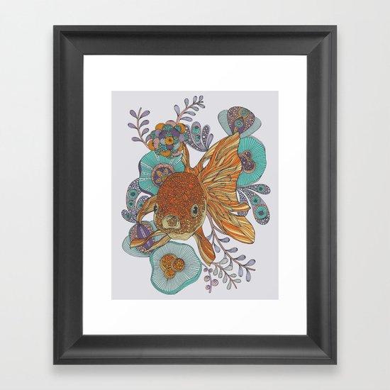 Little Fish Framed Art Print
