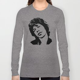 CHRISTMAS GIFTS ROCK N ROLL AND MOVIE SUPERSTAR ARTIST AND DIVA GIFT WRAPPED FOR YOU FROM MONOFACES Long Sleeve T-shirt