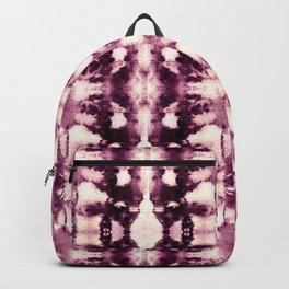 Tie Dye Burgundies Backpack