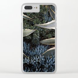 An Agave Hug Clear iPhone Case