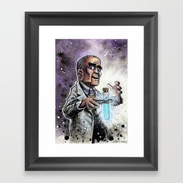 UNCLE BORIS Framed Art Print